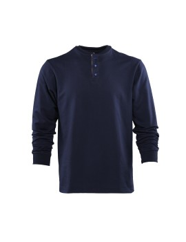 Chief Henley Shirt Navy
