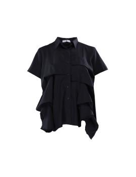 Saura Shirt Black