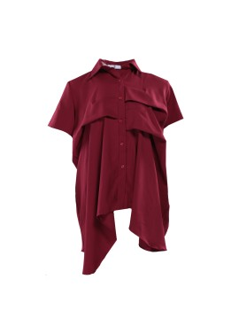 Saura Shirt Maroon
