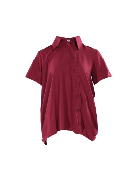 Sarly Shirt Maroon