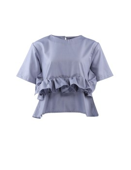 Allura top Smoky blue