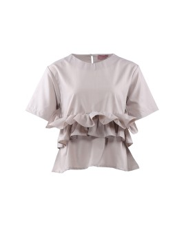 Allura top Light brown