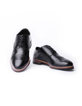 Oxford Captoe Black
