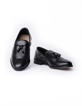 Loafers Wingtip Black