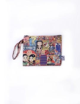Japan Retro Silk Pouch