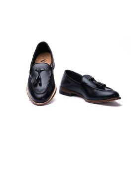 Loafers Slippers Black