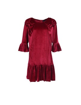 Hera Dress Red Maroon