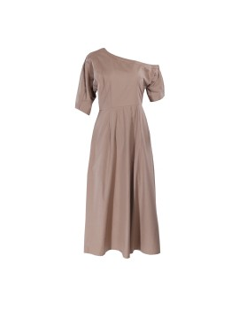 Frufru Dress Camel