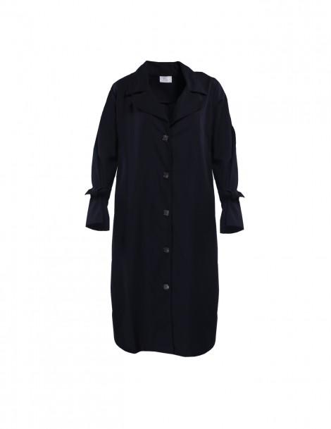 Yola Trench Coat Black