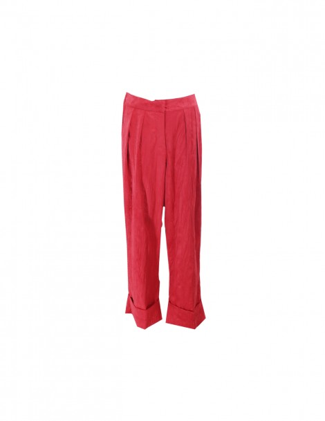 Pla Suede Pants Red