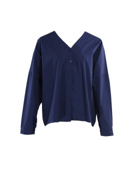 Oversized Shirt Navy