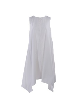 Kaia Dress White