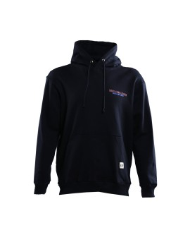 Chaotic Black Hooded Sweatshirt