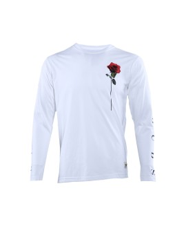Rose White Long Sleeves