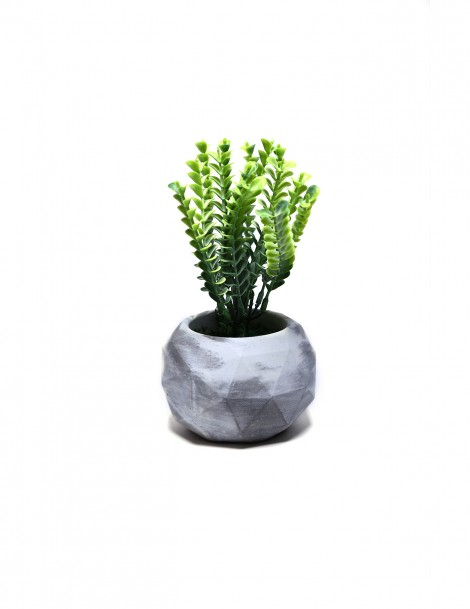 Ball with Artificial Succulent 022
