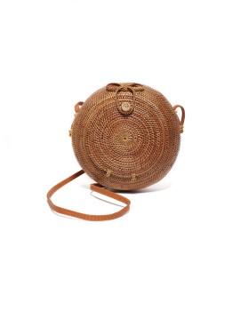 Rattan Ball Bag