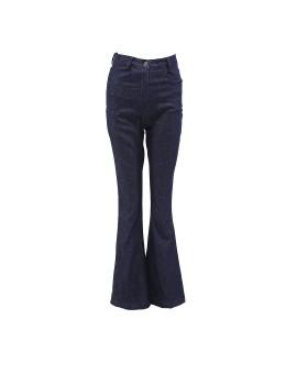 Trouser Highwaist Denim Blue Denim