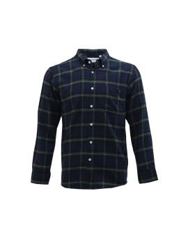 Green Plaid Flannel BD Shirt