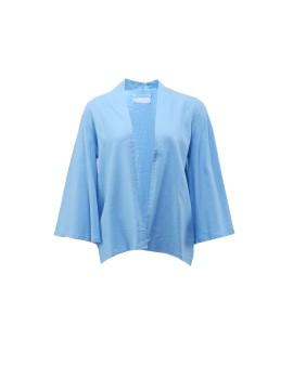 Blue Linen Kimono