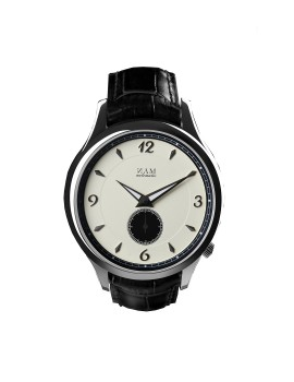 Mahameru Steel Case / Cream Black Dial - MH005